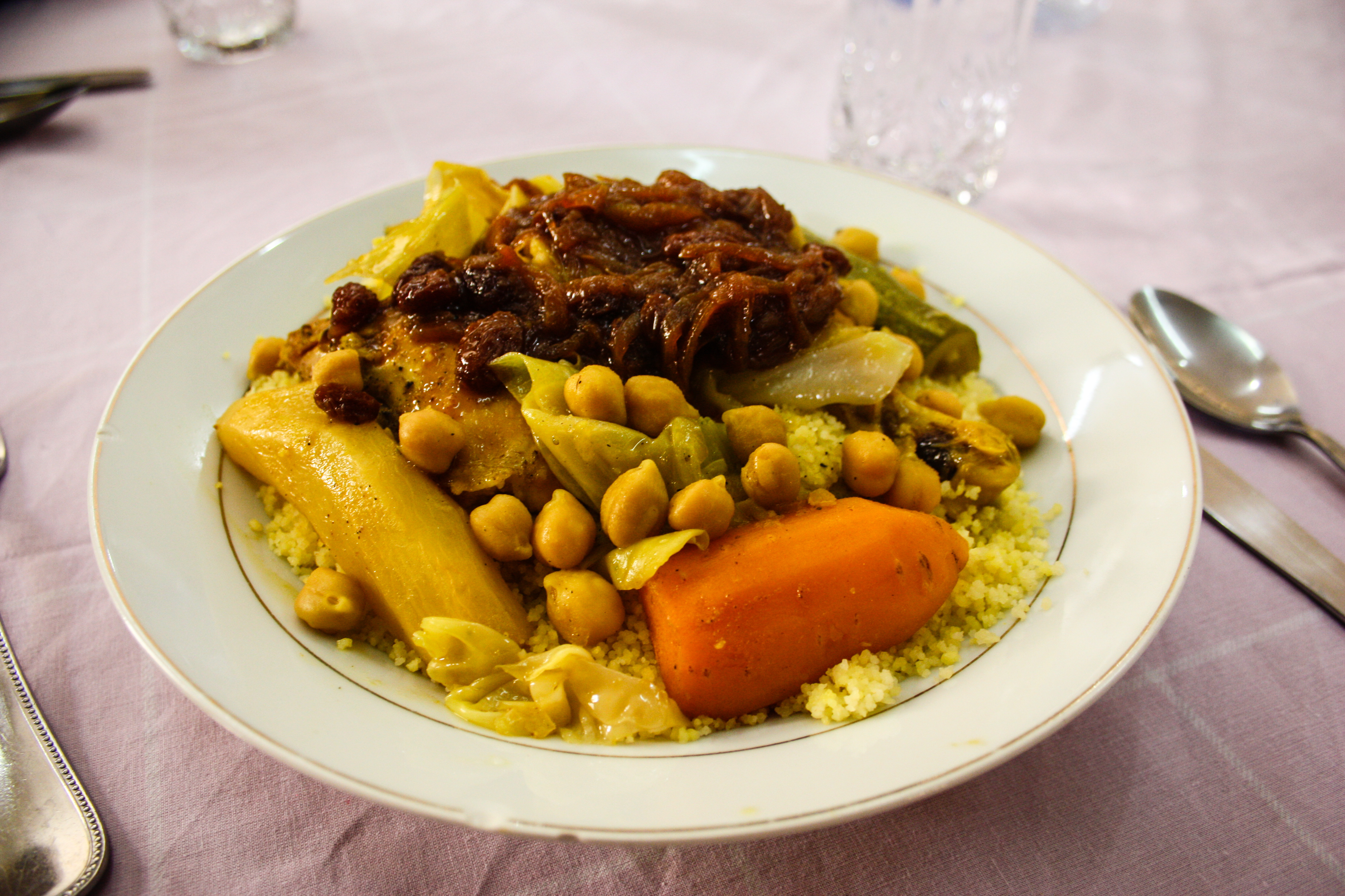 Food from Chefchaouen, Morocco, Northern Africa